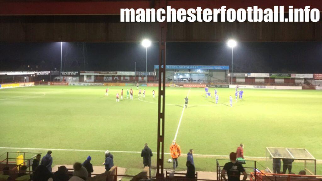 Altrincham 1, Hartlepool United 1 - Tuesday March 9 2021