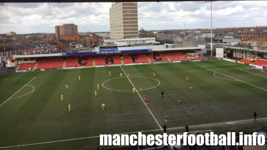 Crewe Alexandra vs Burton Albion Saturday March 13 2021