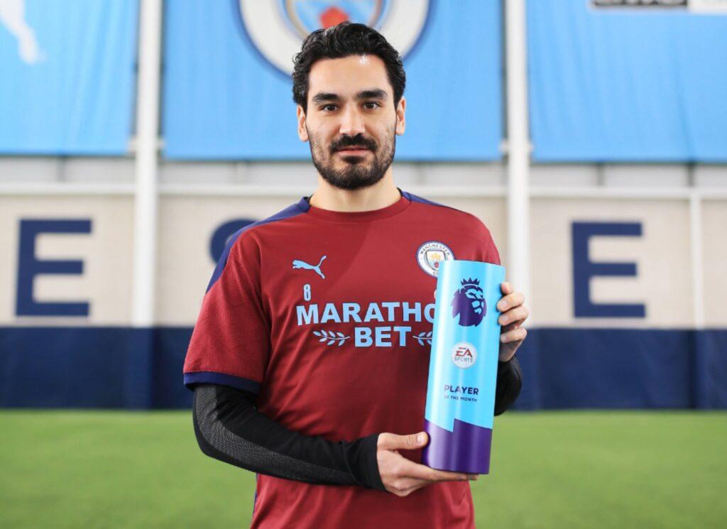 Ilkay Gundogan Player of the Month February 2021