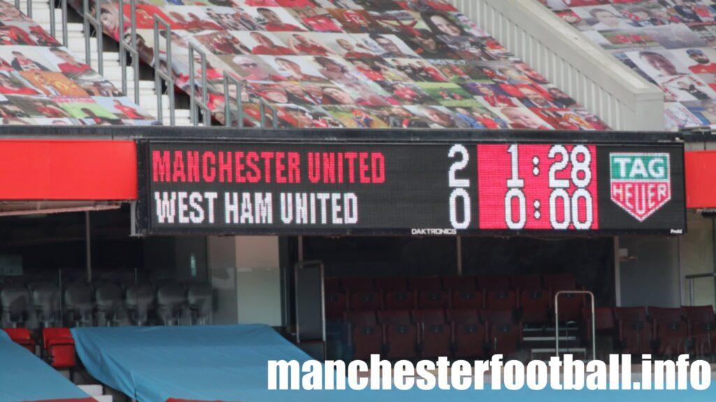 Manchester United Women 2, West Ham Women 0 - Saturday, March 27 2021