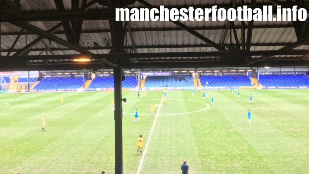 Stockport County vs Hartlepool United - Saturday March 27 2021