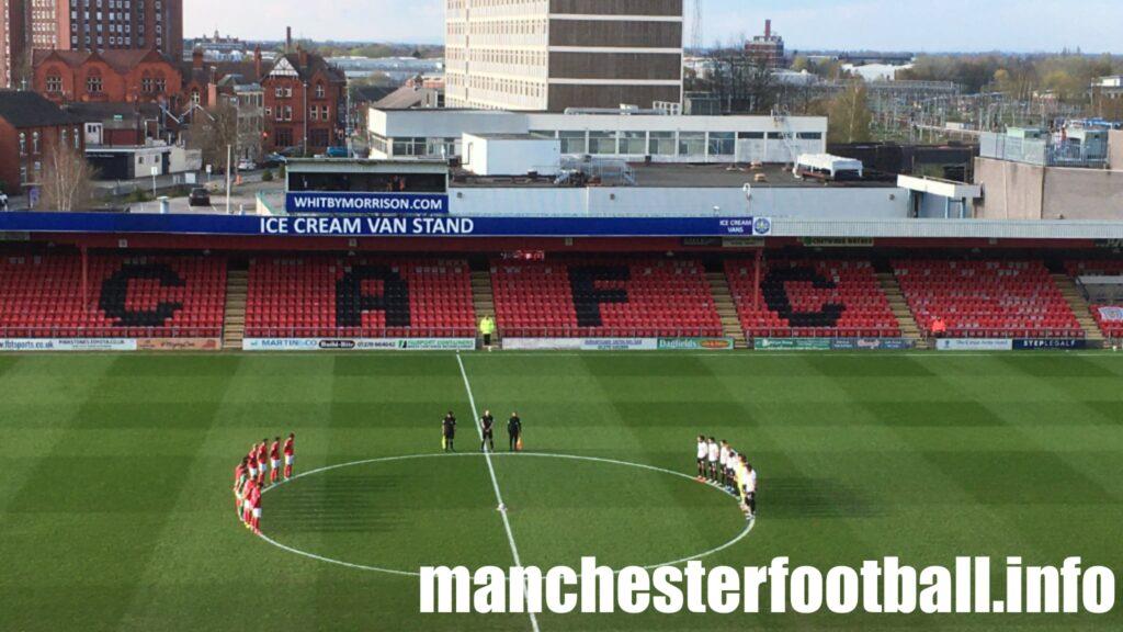 1 minute silence for Duke of Edinburgh - Crewe Alexandra vs Portsmouth Tuesday April 13 2021