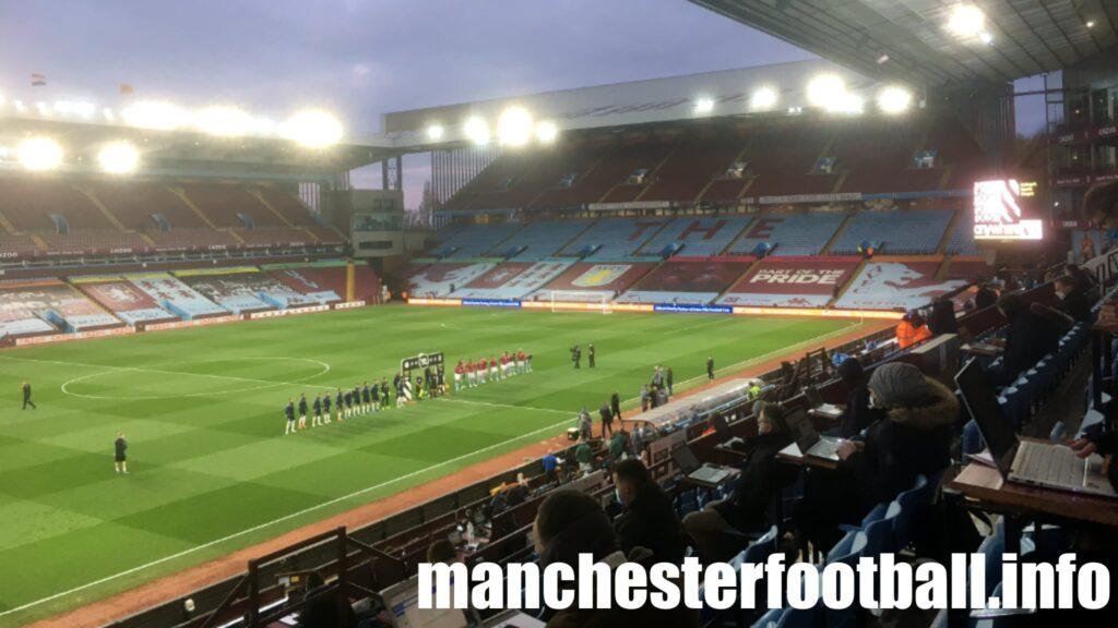 Aston Villa 1, Manchester City 2 - Wednesday April 21 2021