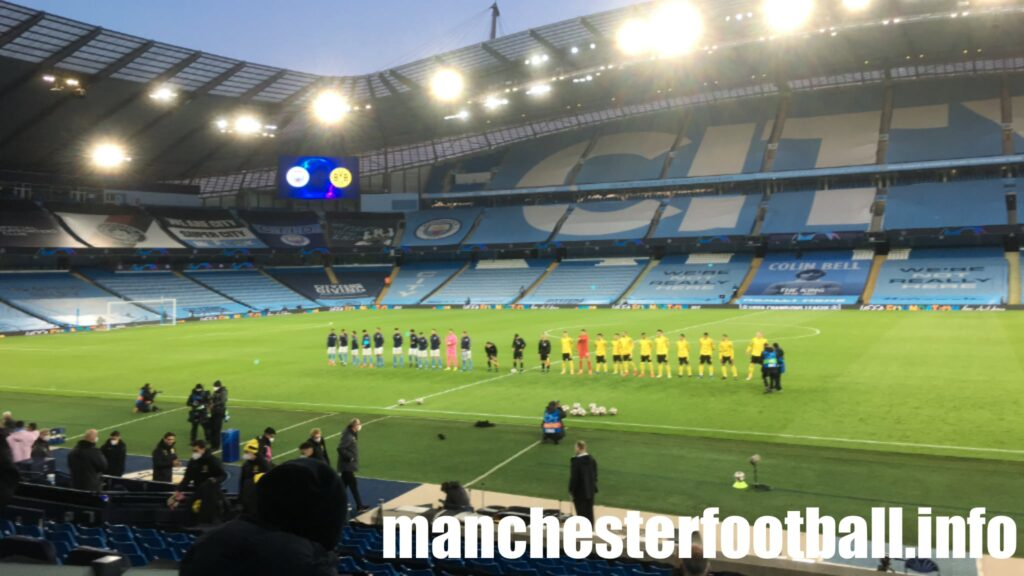 Man City 2, Borussia Dortmund 1 - Tuesday April 6 2021
