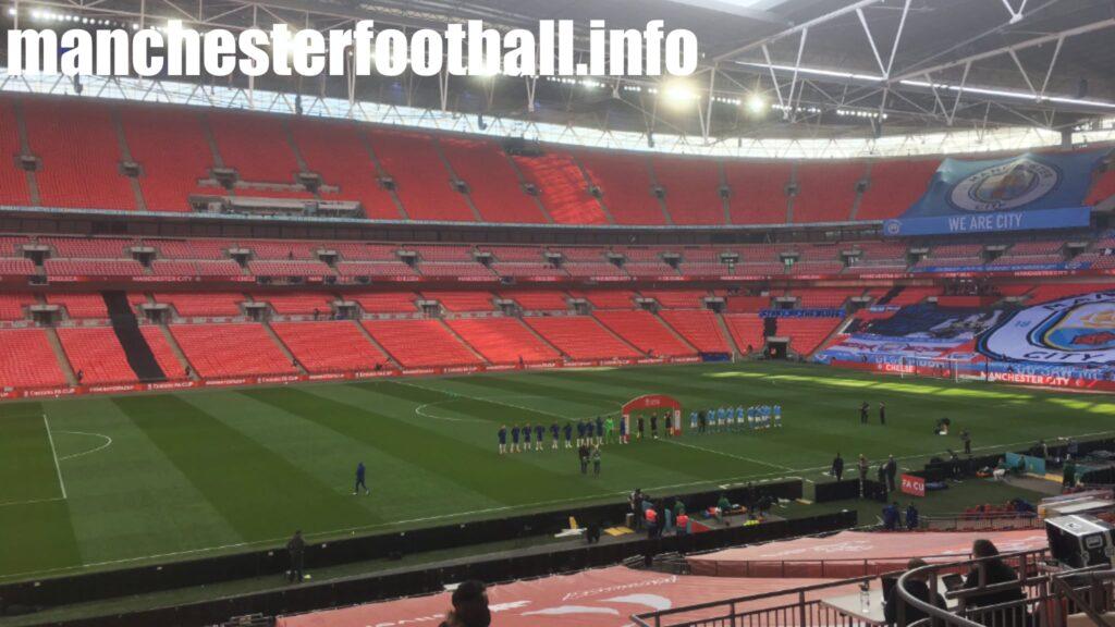 Manchester City vs Chelsea - FA Cup Semi Final Saturday April 17 2021