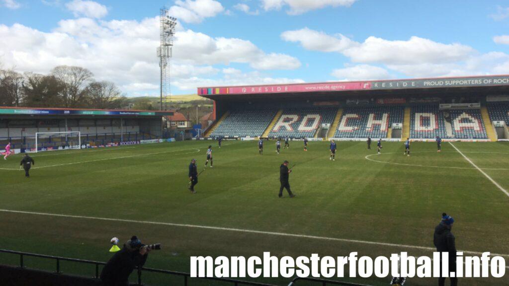 Rochdale 0, Ipswich Town 0 - Monday April 5 2021