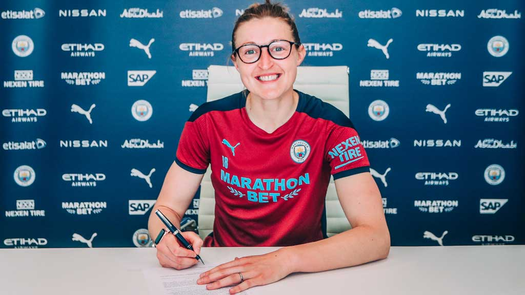 Ellen White signs two-year contract extension with Manchester City