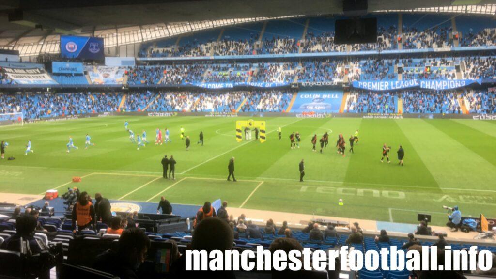 Manchester City vs Everton - Farewell to Sergio Aguero at the Etihad - Sunday May 23 2021
