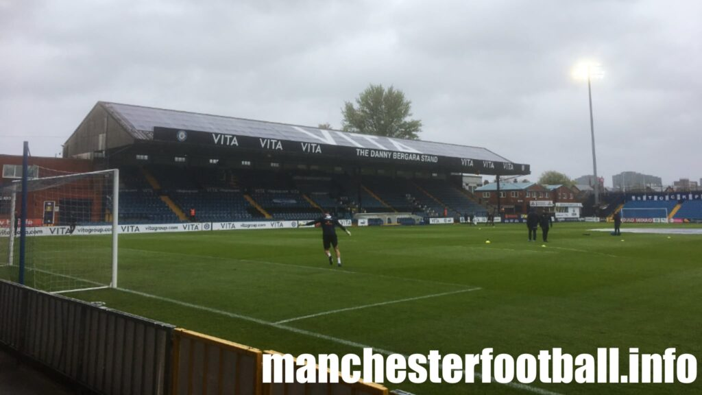 Stockport County 4, Wealdstone 0 - Monday May 3 2021