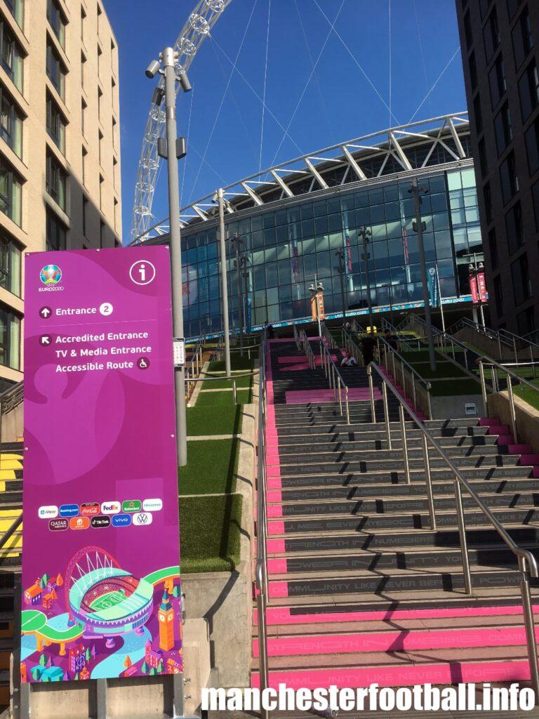 Wembley at Euro 2020 - Sunday June 13 2021