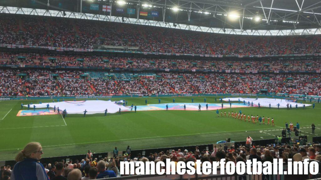 Wembley before England v Germany Euro 2020 Tuesday June 29 2021