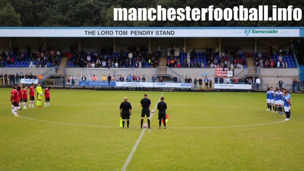 Bert Whalley game Stalybridge Celtic vs Man Utd U23 - Wednesday July 28 2021