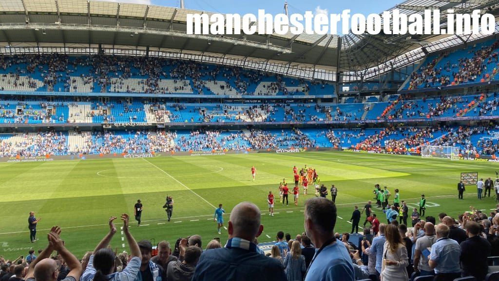 Manchester City 5, Arsenal 0 - after the game - Saturday August 28 2021