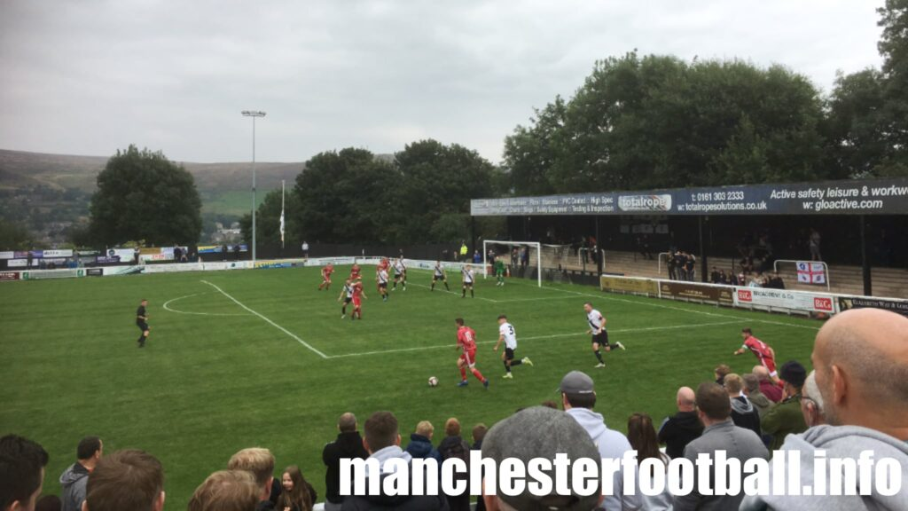 Mossley vs Newton Aycliffe - FA Cup Saturday September 4 2021