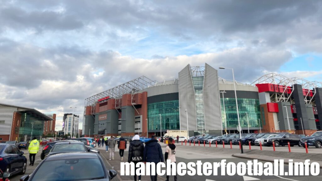 Old Trafford before Manchester United vs West Ham in the Carabao Cup