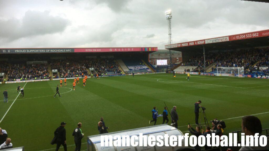 Rochdale vs Oldham Athletic Saturday September 25 2021
