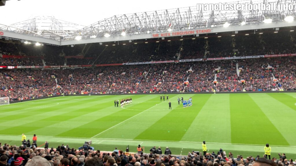 Manchester United and Everton fans pay respects to Liverpool striker Roger Hunt October 2 2021